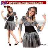 Señoras adulto Fantasma Disfraz Disfraz de Halloween (COS1100)