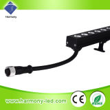 12W RGB LED Strip Wall Washer Light para Stage, Wall
