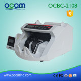 Ocbc-2108 Speed ​​Multifunction Money Detector com lâmpadas UV