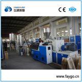 PVC que compone la línea de granulación de la máquina