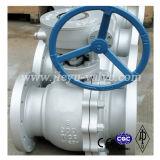 2 partes moldaram a válvula de esfera da água do gás de petróleo do aço inoxidável