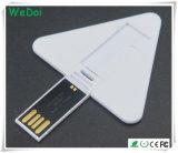 Clé de mémoire USB par la carte de crédit de vente chaude avec la garantie de 1 an (WY-CA27)