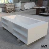 Baignoire 2016 autonome en pierre de marbre artificielle de Dubaï de modèle de l'Italie