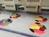 Wonyo 6ヘッド刺繍機械9/12カラーDahaoの刺繍機械