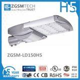 5 ans de Garantie Extérieru Haut Lumen Aluminum 150W LED Tête de Lampadaire