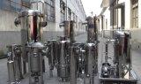 Alto filtro de bolso del acero inoxidable de la temperatura solo