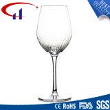 Beste Qualitätshandgemachter Glasbecher für Wein (CHG8017)