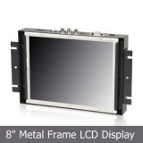 "8 "" Industrial Application를 위한 4:3 Metal Open Frame Touch Monitor"