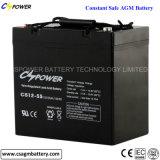 batteria profonda 12V90ah del AGM del ciclo della garanzia 3years per solare