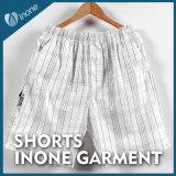 Inone 055 Mens nada Shorts ocasionais da placa das calças curtas