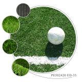 Relvado artificial da grama sintética do futebol para o campo de futebol
