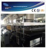 Chaîne de production creuse de feuille de polycarbonate