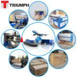 Triumph-Selbstfokus-Schaumgummi-Vorstand-Laser-Ausschnitt-Maschine