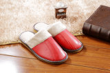 Winter Shearling Plush Snow Slippers Soft Rubber Sole