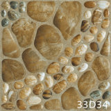 Carrelage pavé en cailloutis par pierre de porcelaine pour le jardin (300X300mm)