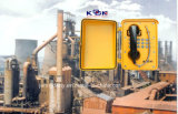 Robusto e Weather Resistant IP66 Waterproof Telephone Knsp-01