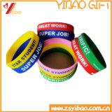 Горячий Wristband силикона типа способа сбывания для выдвиженческого подарка (YB-SM-08)