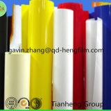 Tube rigide de pipe de film de PVC de pente flexible colorée de cadre