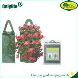 O pátio do PE de Onlylife cresce o saco do plantador do saco com dois punhos