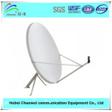 Напольный диапазон Ku приемника спутникового телевидения тарелки антенны 90cm