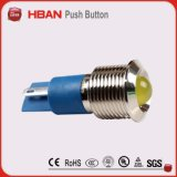 lâmpada de sinal impermeável do diodo emissor de luz do bronze do diâmetro de 14mm