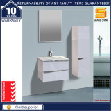 Vanité blanche de salle de bains de peinture de type européen avec des pattes d'acier inoxydable