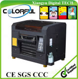 다색 A3 Digital Fatbed UV Printing Ink PVC Card Printer와 Embossed Machine