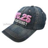 洗浄される刺繍は野球帽、急な回復の帽子を遊ばす