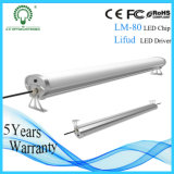 IP65 LED Tri Proof Tube Light for Industial Application