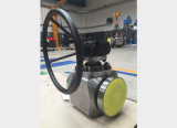 Válvula de bola de entrada de alta pressão