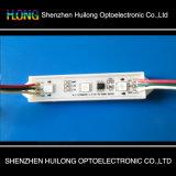 Módulo do diodo emissor de luz da alta qualidade 5050 com tampa de lente 0.72W 3LED