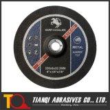 거친 바퀴, 금속 230X6X22를 위한 회전 숫돌