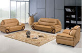 Sofà del salone con il sofà moderno del sofà di cuoio per mobilia domestica