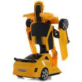 robot à télécommande de déformation de 043661-2.4G RC