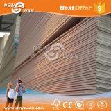 tarjeta de yeso del color rosado de 12m m/el panel incombustibles del cartón yeso/de la mampostería seca