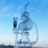 Heibei Fabrik-Großverkauf-Eiscremebecher-Stapel KLEKS stellt Glas-rauchendes Wasser-Rohr-Modell K63 ein