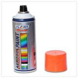 Peinture de jet imperméable à l'eau d'aérosol de couleur fluorescente de véhicule