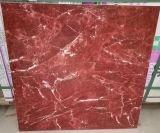 Rosso Levantoの大理石の一見の十分に磨かれた艶をかけられた床タイル
