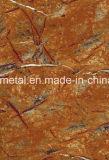 Gedruckter Stahlring mit Marmormuster
