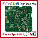1.0mm 4L mehrschichtige OSP Fr4 steife Leiterplatte gedruckte Schaltkarte der Kommunikations-V0