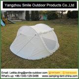3-4 شخص يتيح إلتواء يخيّم بيضاء يفرقع قابل للانهيار فوق خيمة