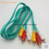 3RCA/3r stop/Jack aan Stop 3RCA/3r/Jack AV/VGA/Audio/DVD/VCD Cable (3r-3r)