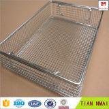 Cesta de alambre / desinfectar cesta / cesta de metal