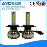 새로운 세대 고성능 H4 LED 헤드라이트 전구