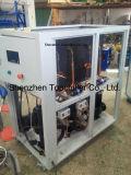 refrigeratore industriale raffreddato ad acqua 25rt per l'anodizzazione e placcare
