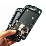 SamsungギャラクシーS4実行中I9295 I537 LCDホールダースクリーンのフレームの斜面ハウジングのため