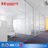 Porte isolante de bureau de partition en verre de Chaud-Vente