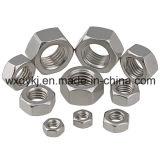 Usine de dispositif de fixation d'acier inoxydable de noix Hex de Chine DIN 934