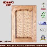 Porta de gabinete de madeira da cozinha do núcleo contínuo (GSP5-030)