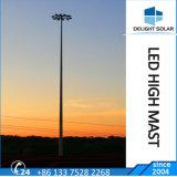 Luz de inundação LED 1000W poste de iluminação de rua decorativa mastro alto